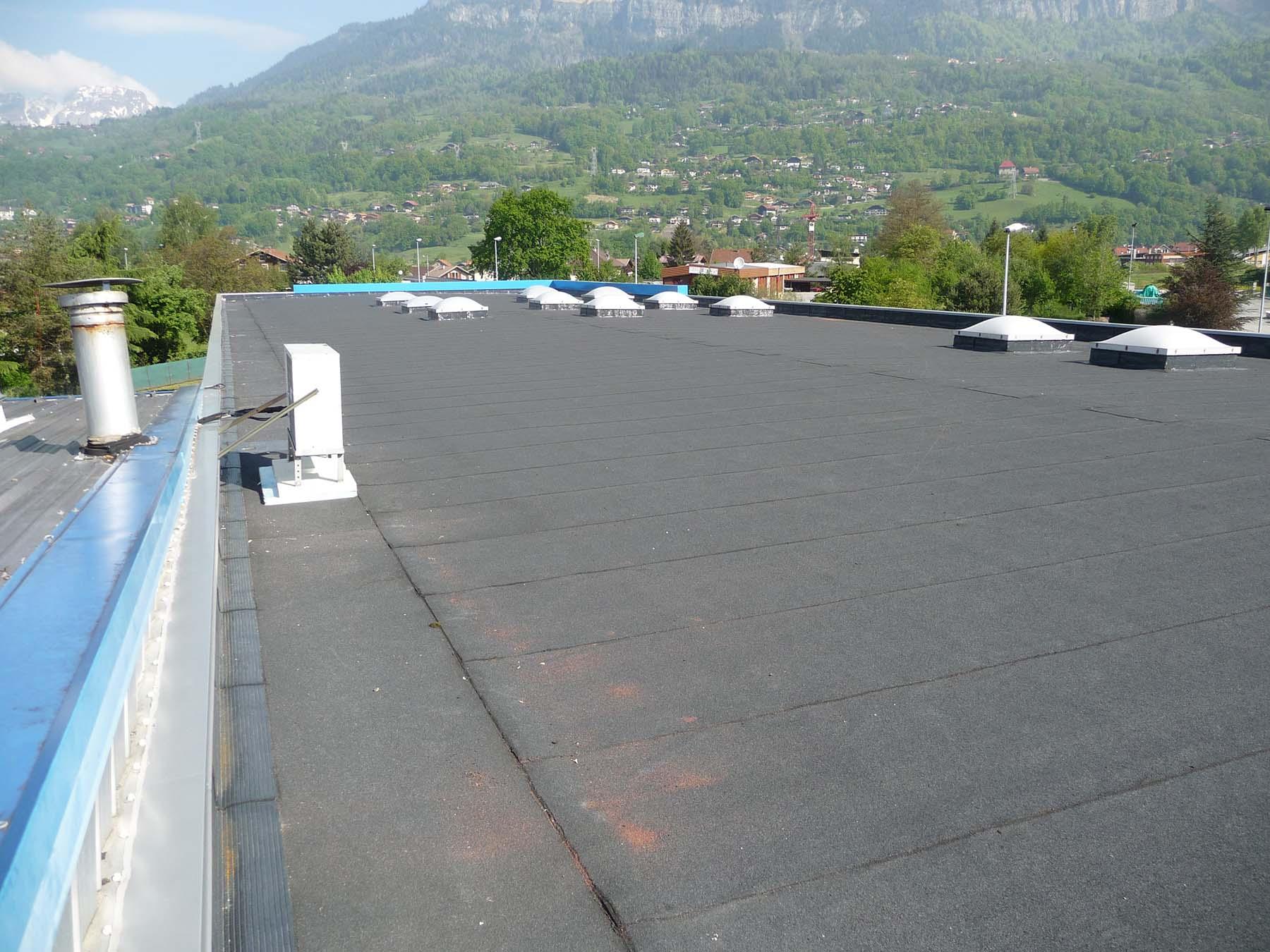Réfection toiture usine (Après)